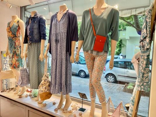 Schaufenster im Berliner Shop